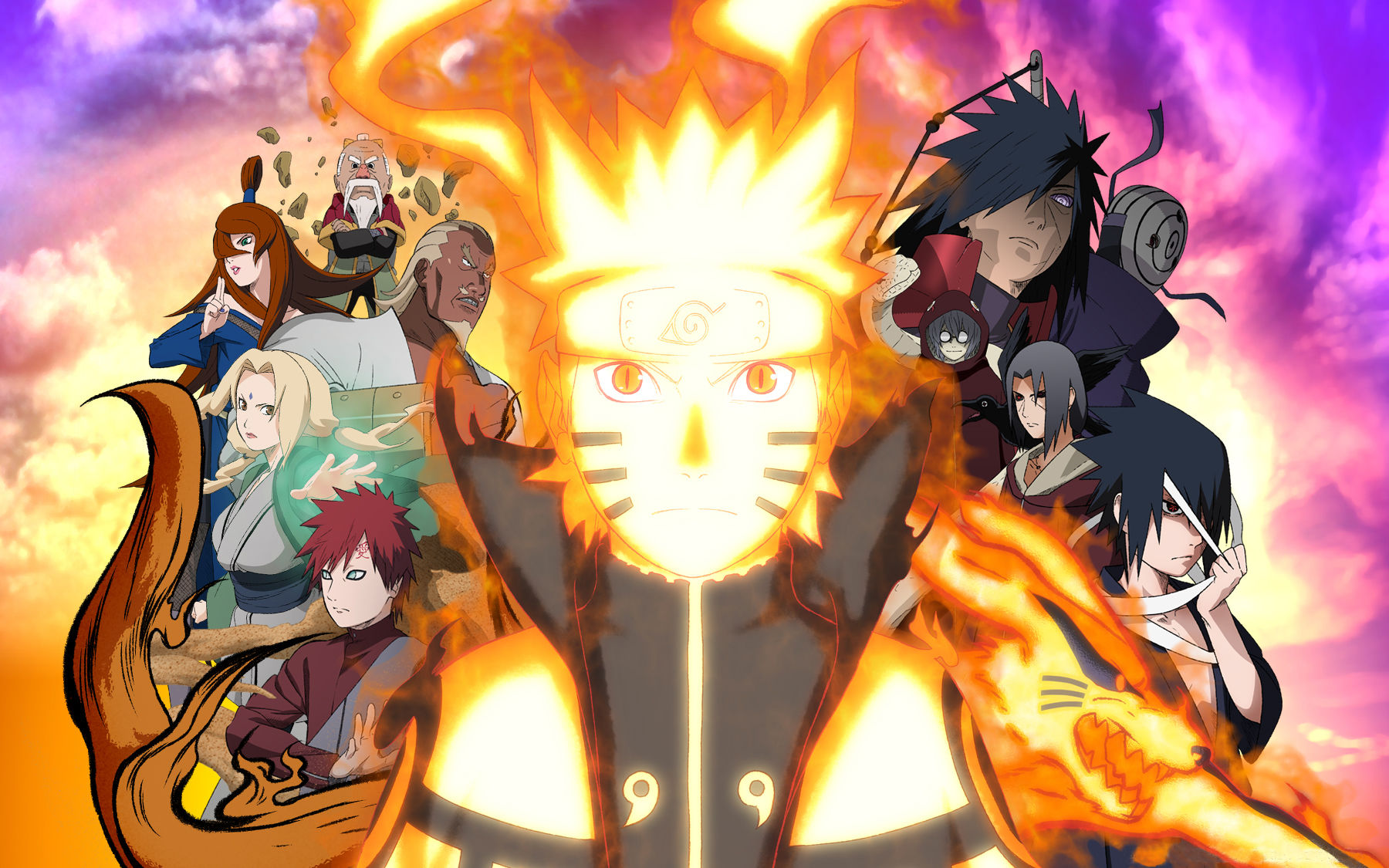 Naruto Shippuden Wallpaper Themes HD