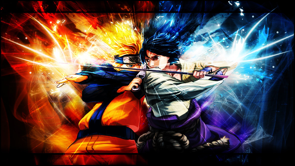 Naruto Shippuden Wallpaper vs Sasuke