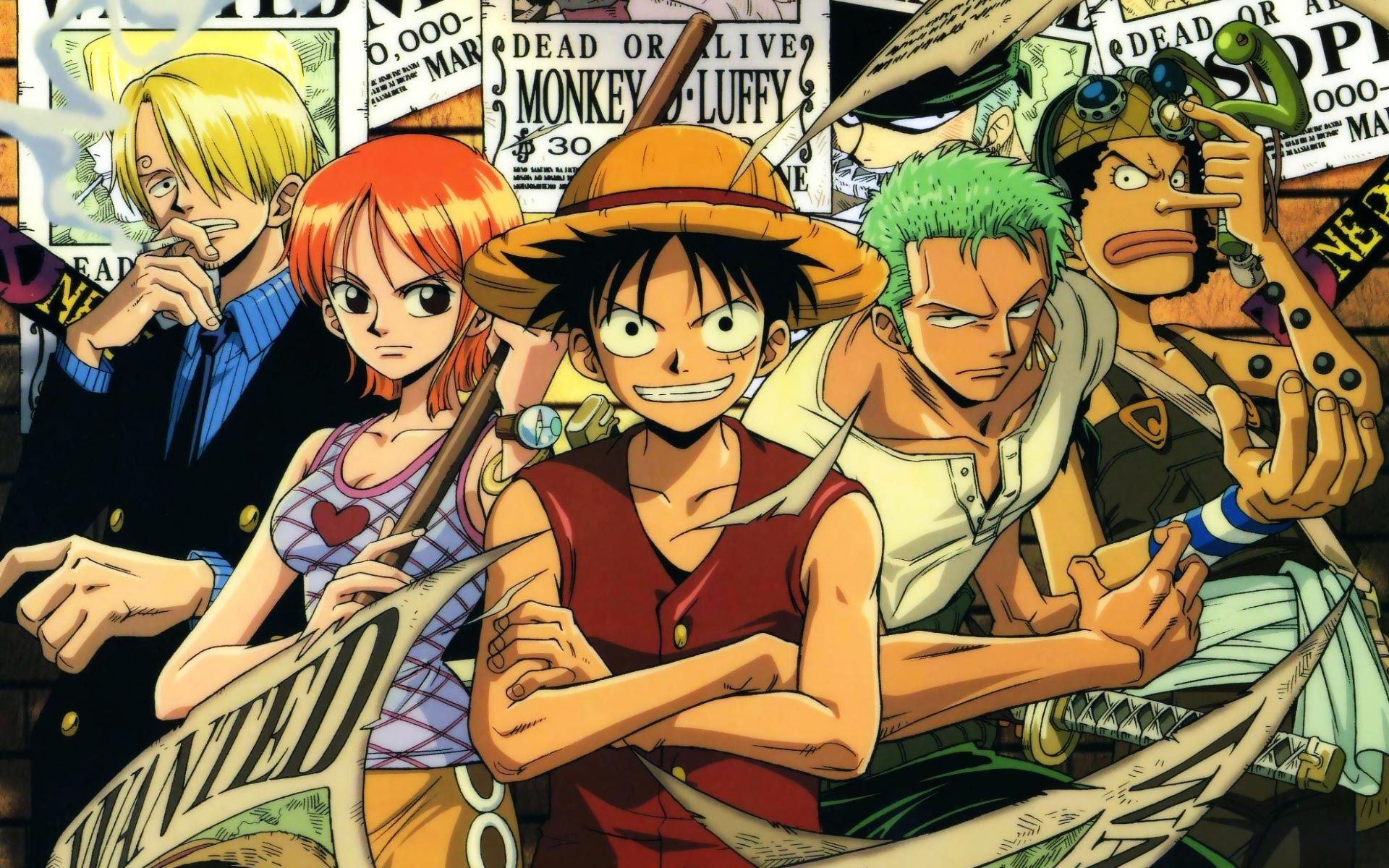 One Piece Wallpaper Background Widescreen