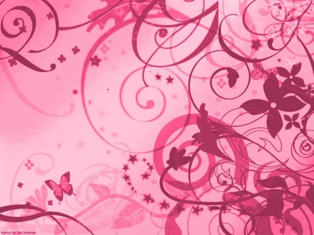 Pink Art Color Wallpaper