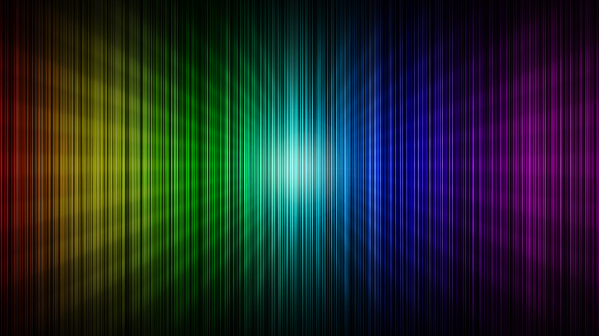 Rainbow Simple Wallpaper HD