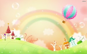 Rainbow Wallpaper Image Desktop PC