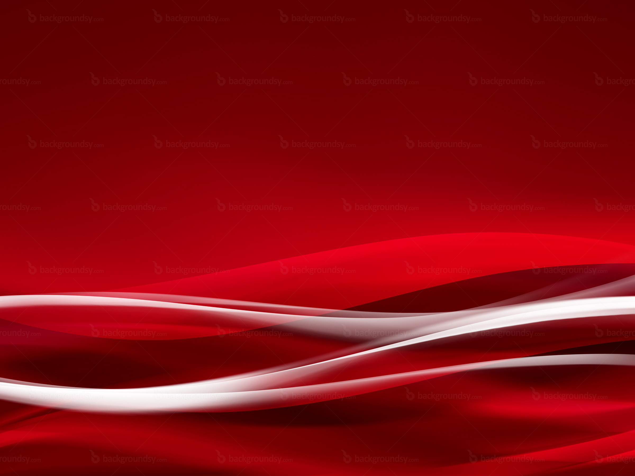 Red Waves Wallpaper Free Downloads