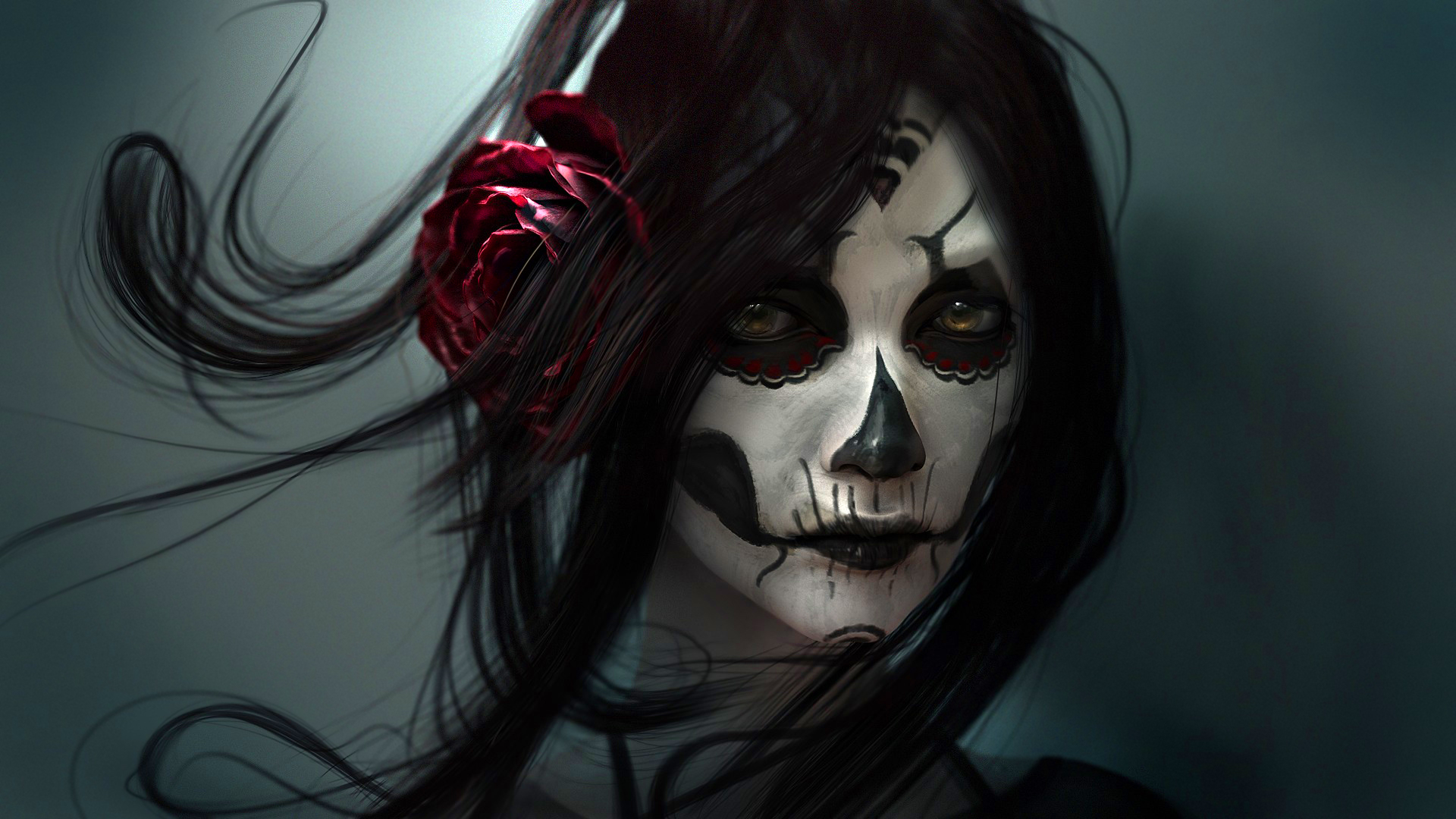 Skull Girl Wallpapers HD