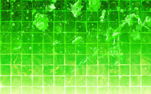Splatter Green Wallpaper 1920x1200