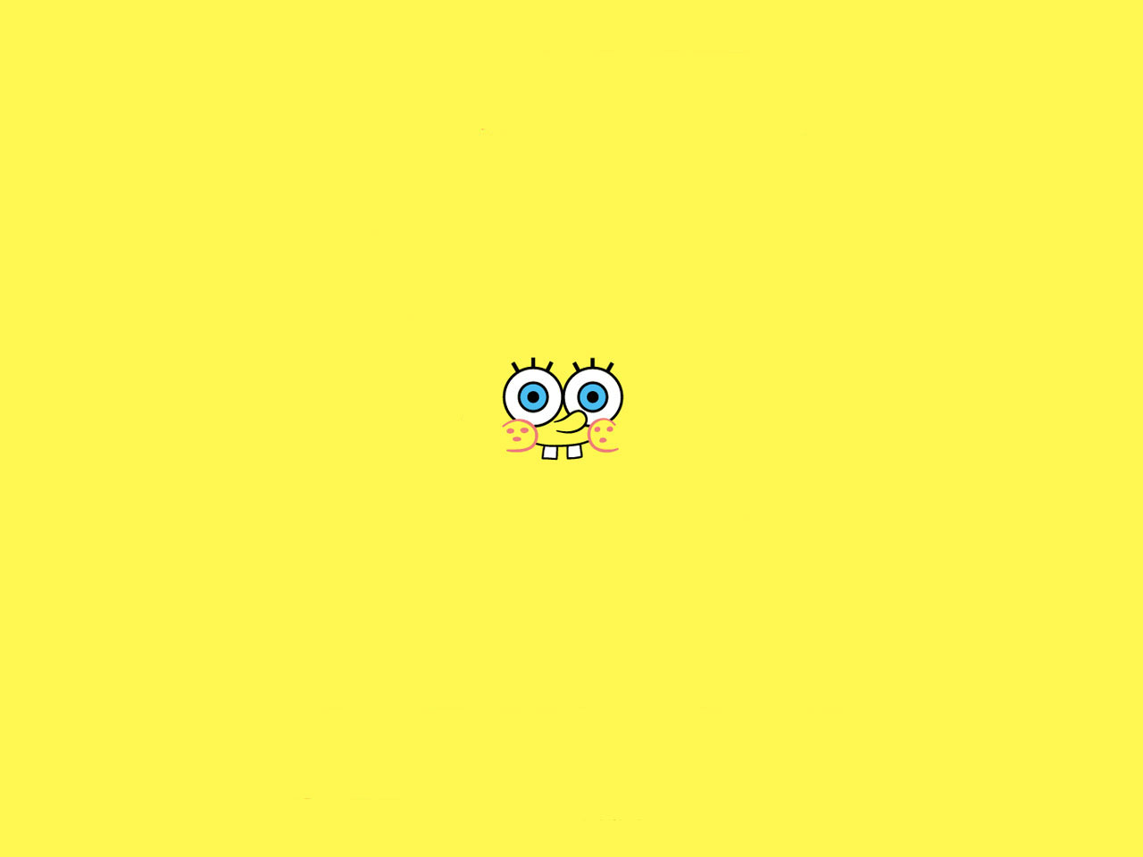 Spongebob Wallpaper Yellow
