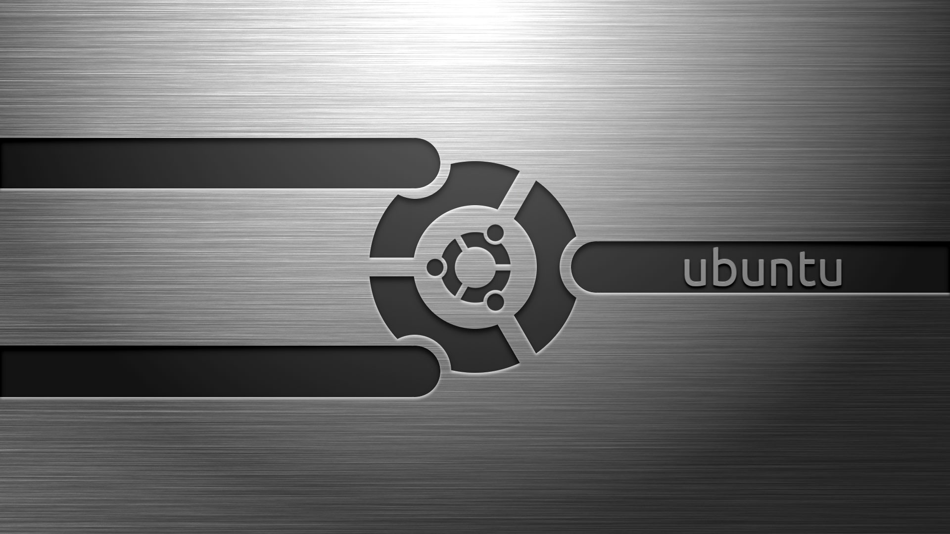 Ubuntu Wallpaper Silver HD Desktop