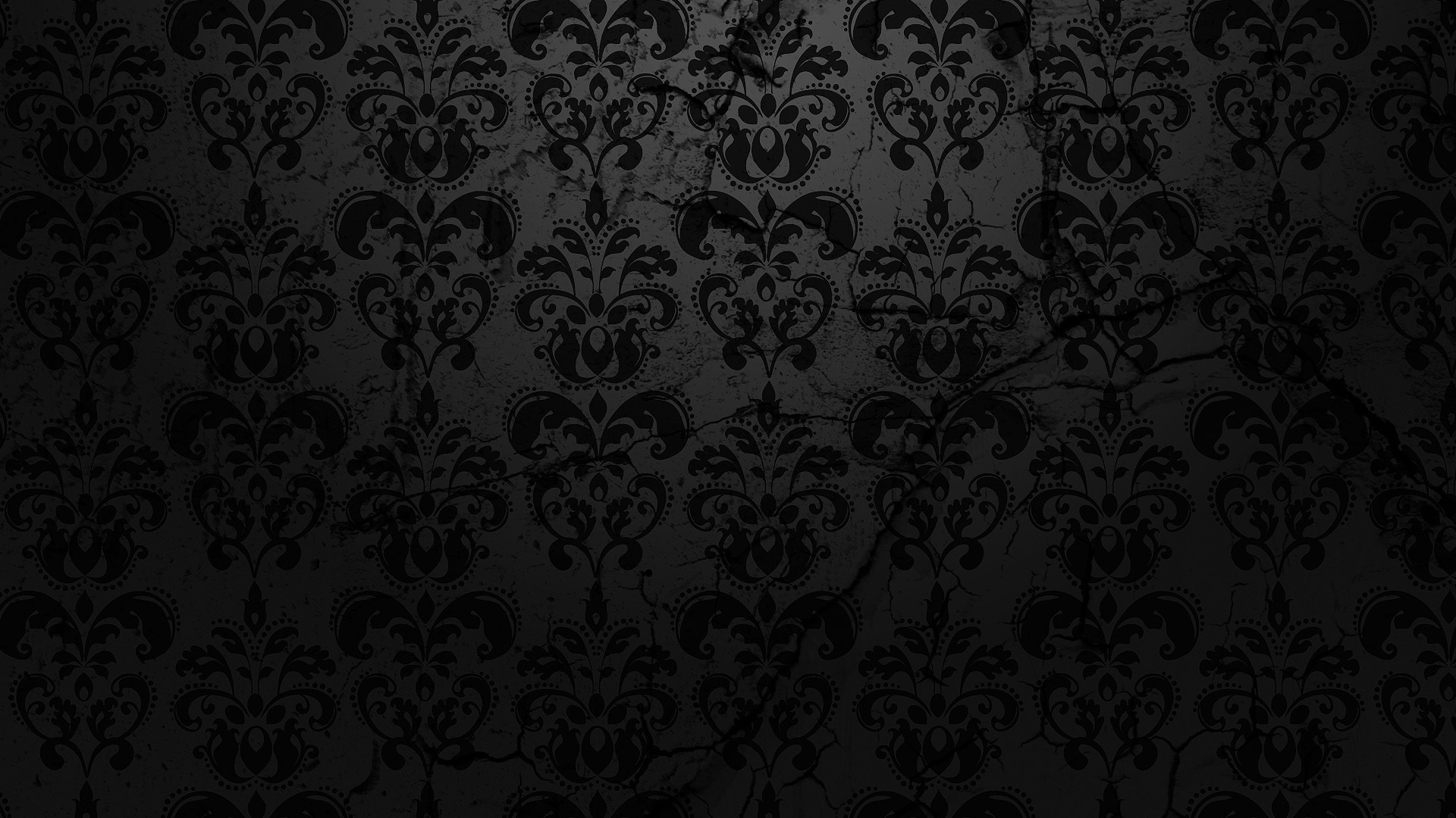 Wallpaper Black Abstract Design