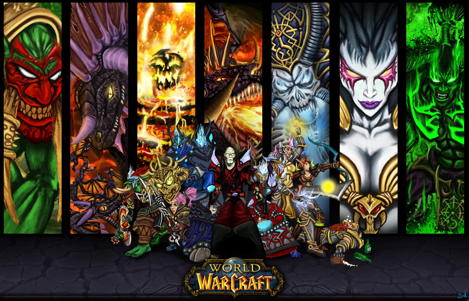 World Of Warcraft Wallpapers Hd 7443 Wallpaper Walldiskpaper
