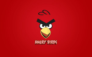 Angry Bird Love Cute Wallpaper