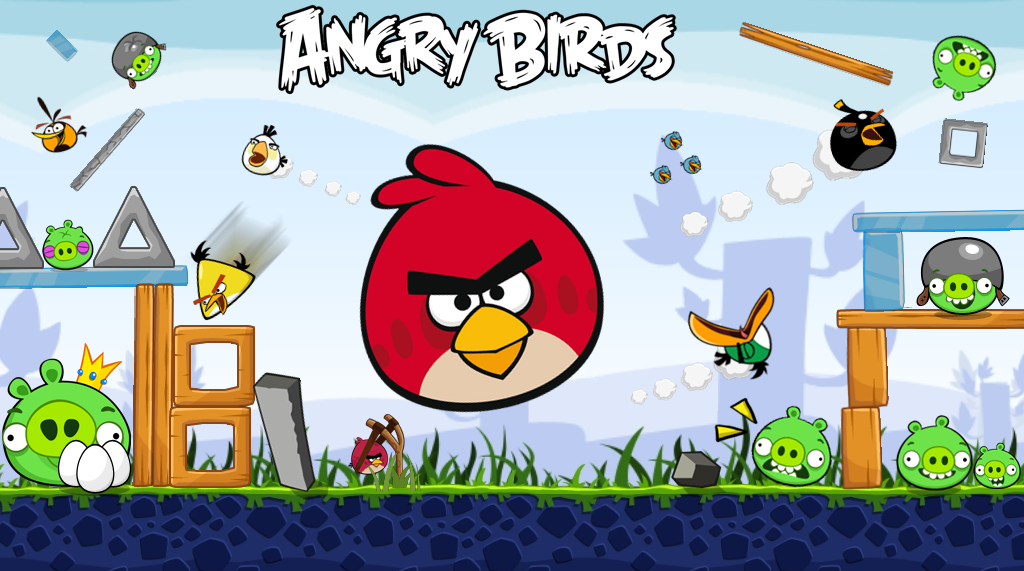 Angry Bird Wallpaper Funny