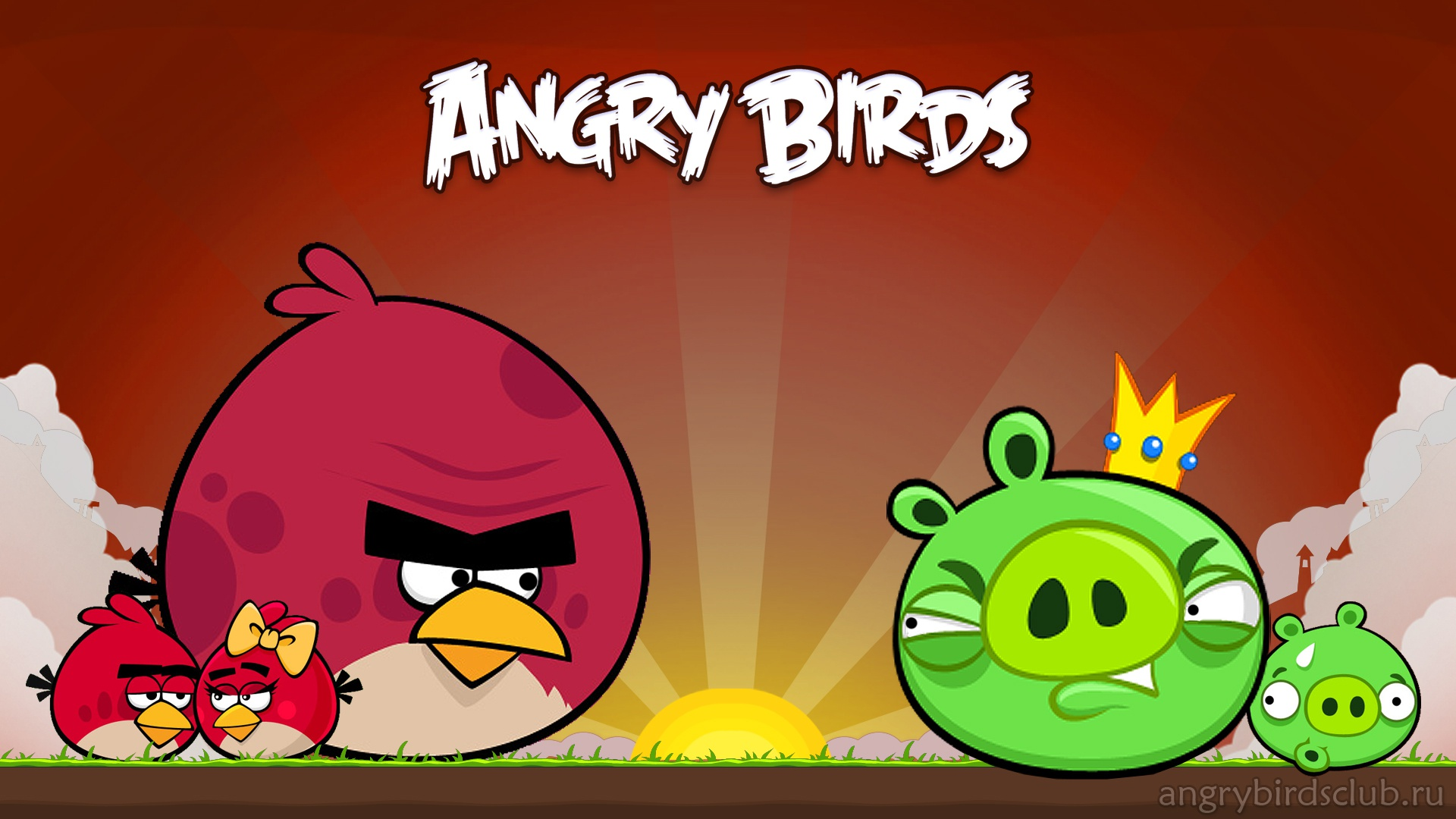 Angry Bird Wallpaper Mobile HD Tablet