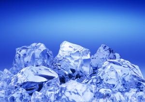 Blue Ice Wallpaper Desktop