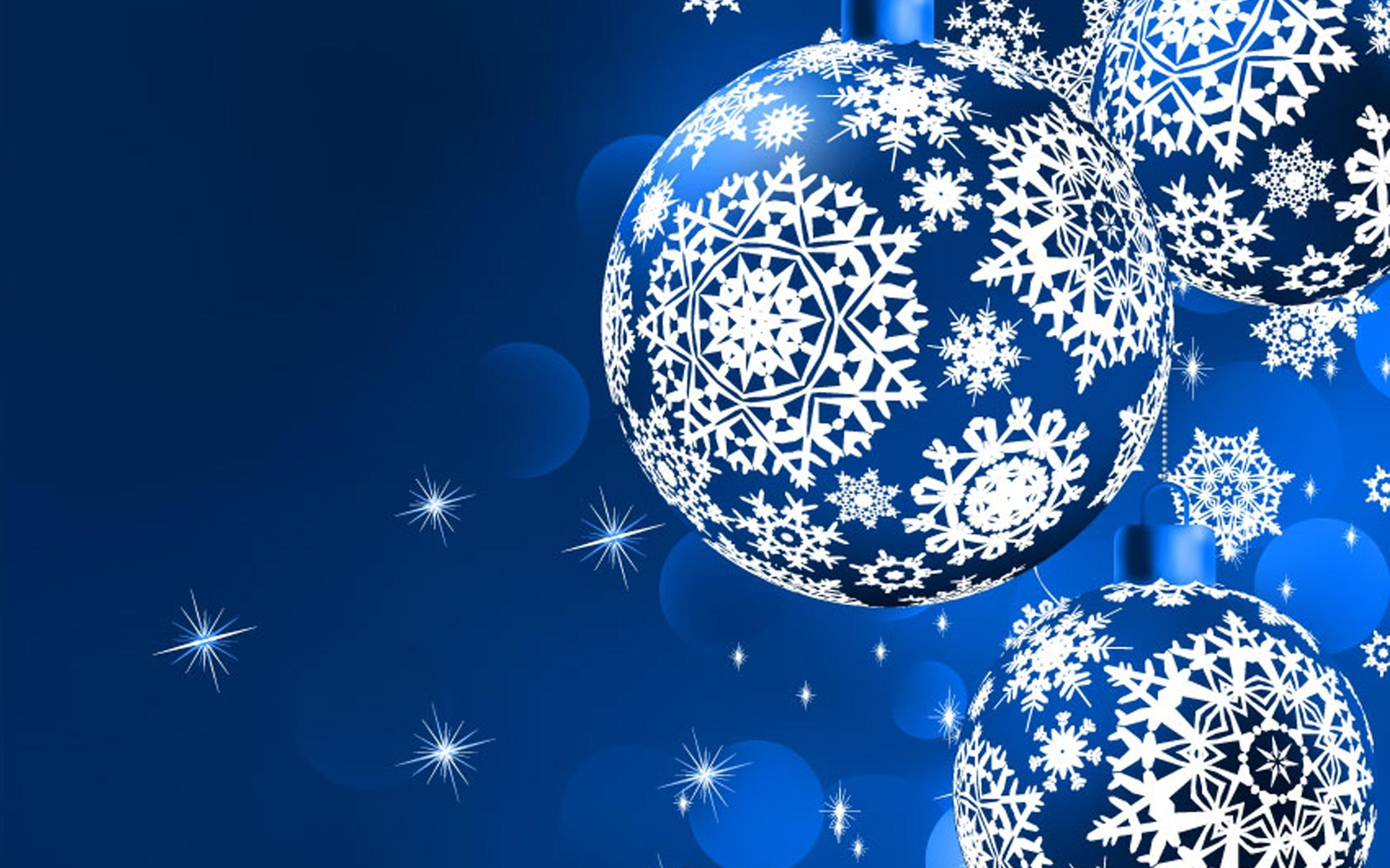 Blue Snowflake Cool Wallpaper Photography