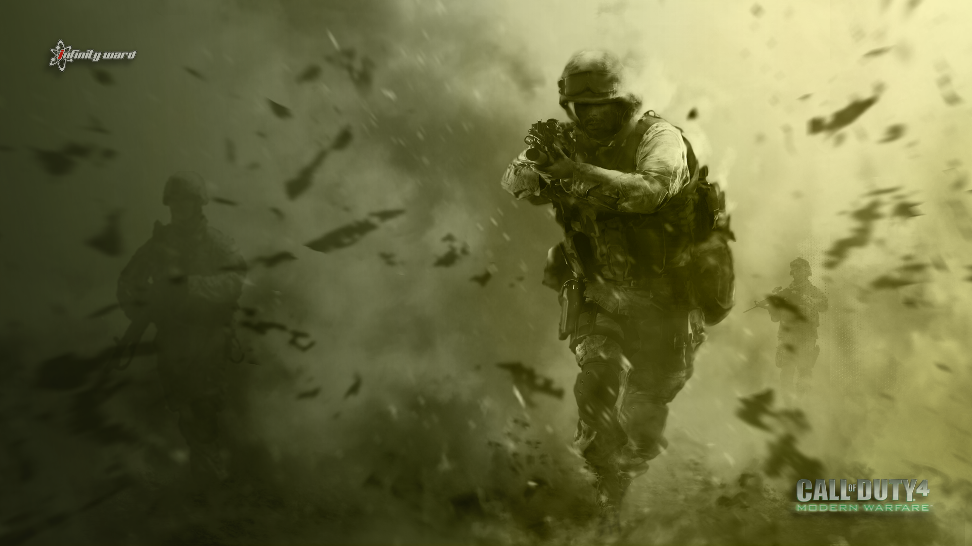 Call Of Duty Modern Warfare 4 Wallpaper Desktop