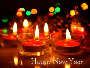 Candels Happy New Year 2015 Wallpapers