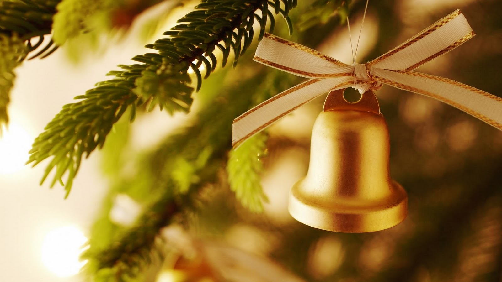 Christmas Decoration Bell Wallpaper Full