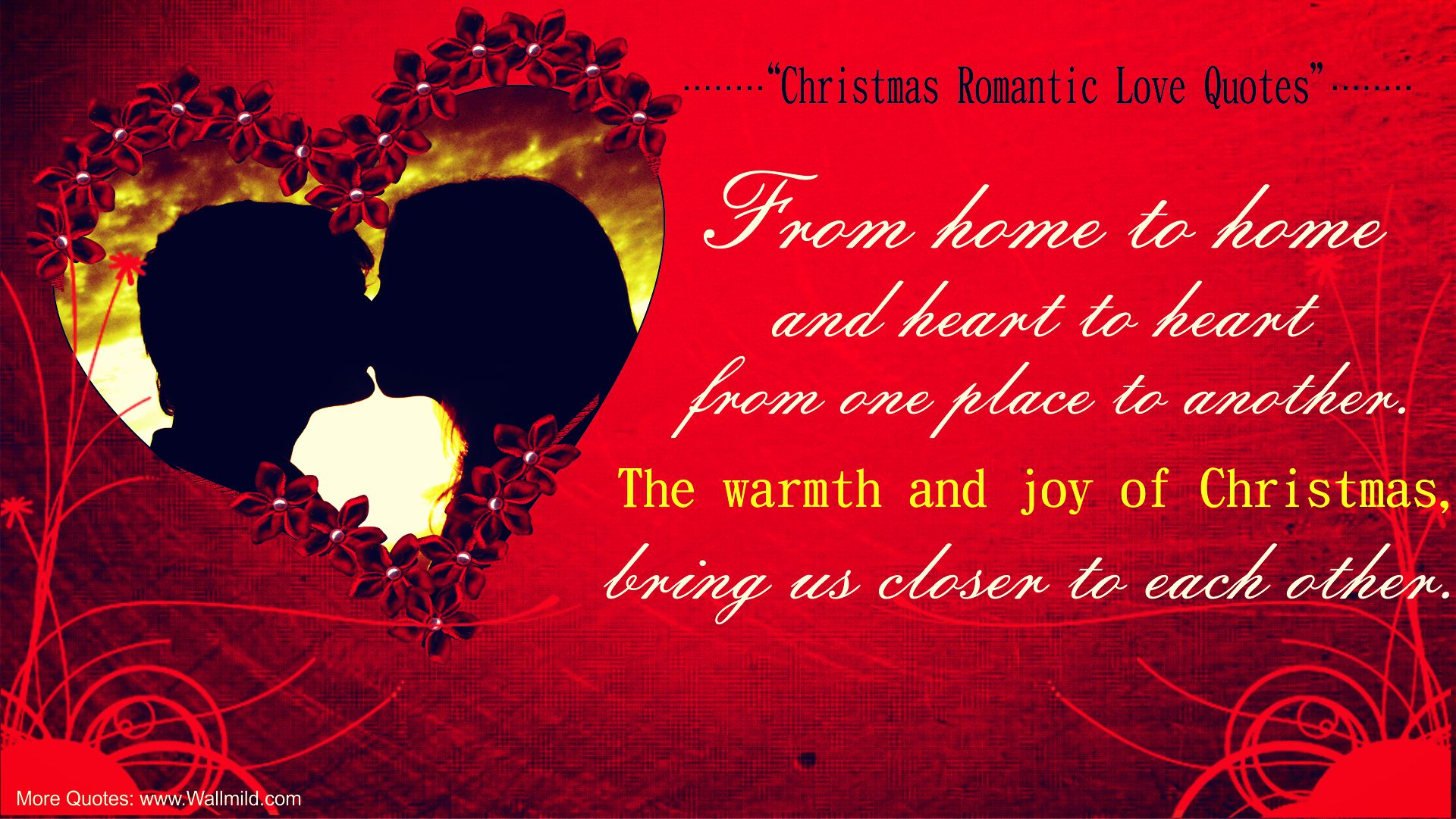 Quotes About Xmas Love : Christmas Love Quotes Wallpaper Free Download Wallpaper with 1920x1081 ...