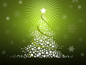 Christmas Tree Wallpaper Clip Art
