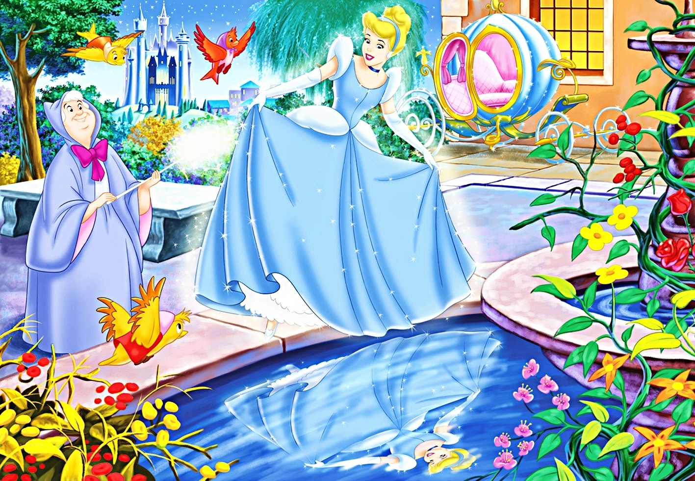 Cinderella Walt Disney Wallpapers