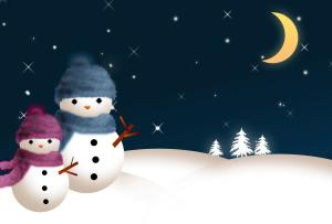 Decoration Snowman Wallpaper Widescreen 2014