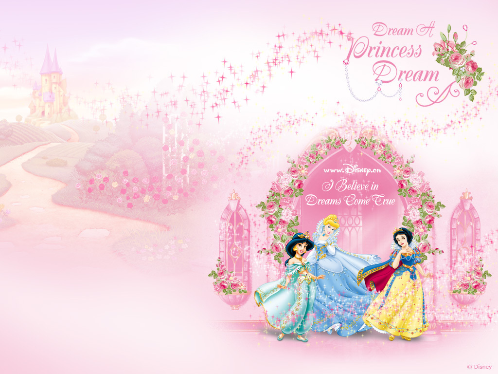Disney Princess Wallpaper 1024×768