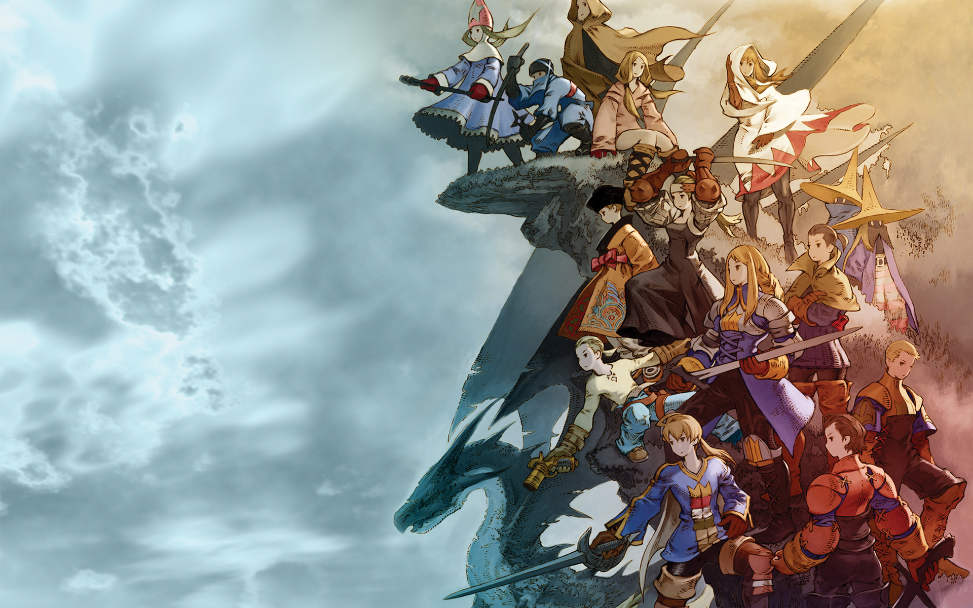 Final Fantasy Wallpaper 1920×1200