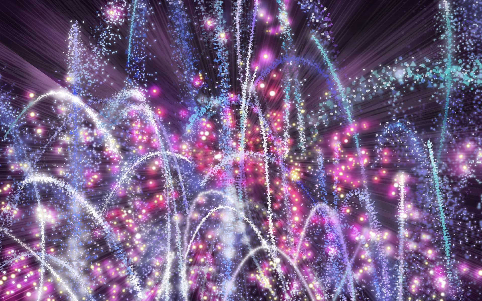 Fireworks Wallpaper 1920×1200