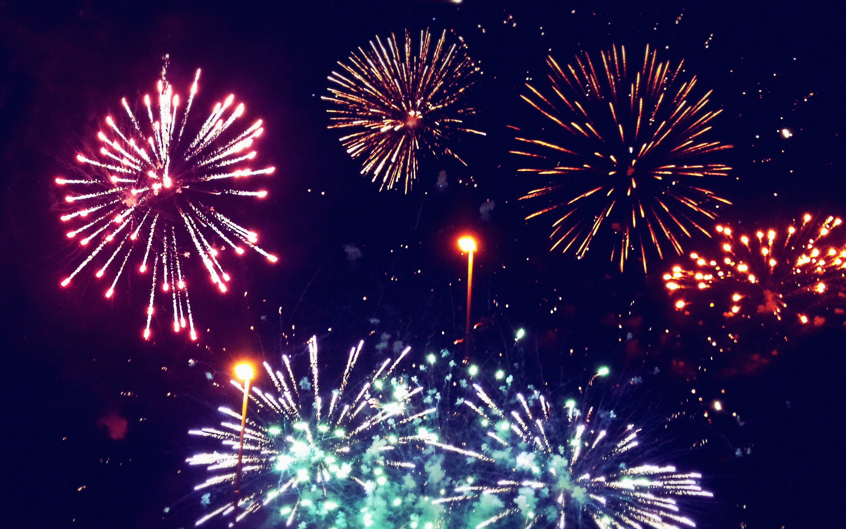 Fireworks Wallpaper Fullscreen HD