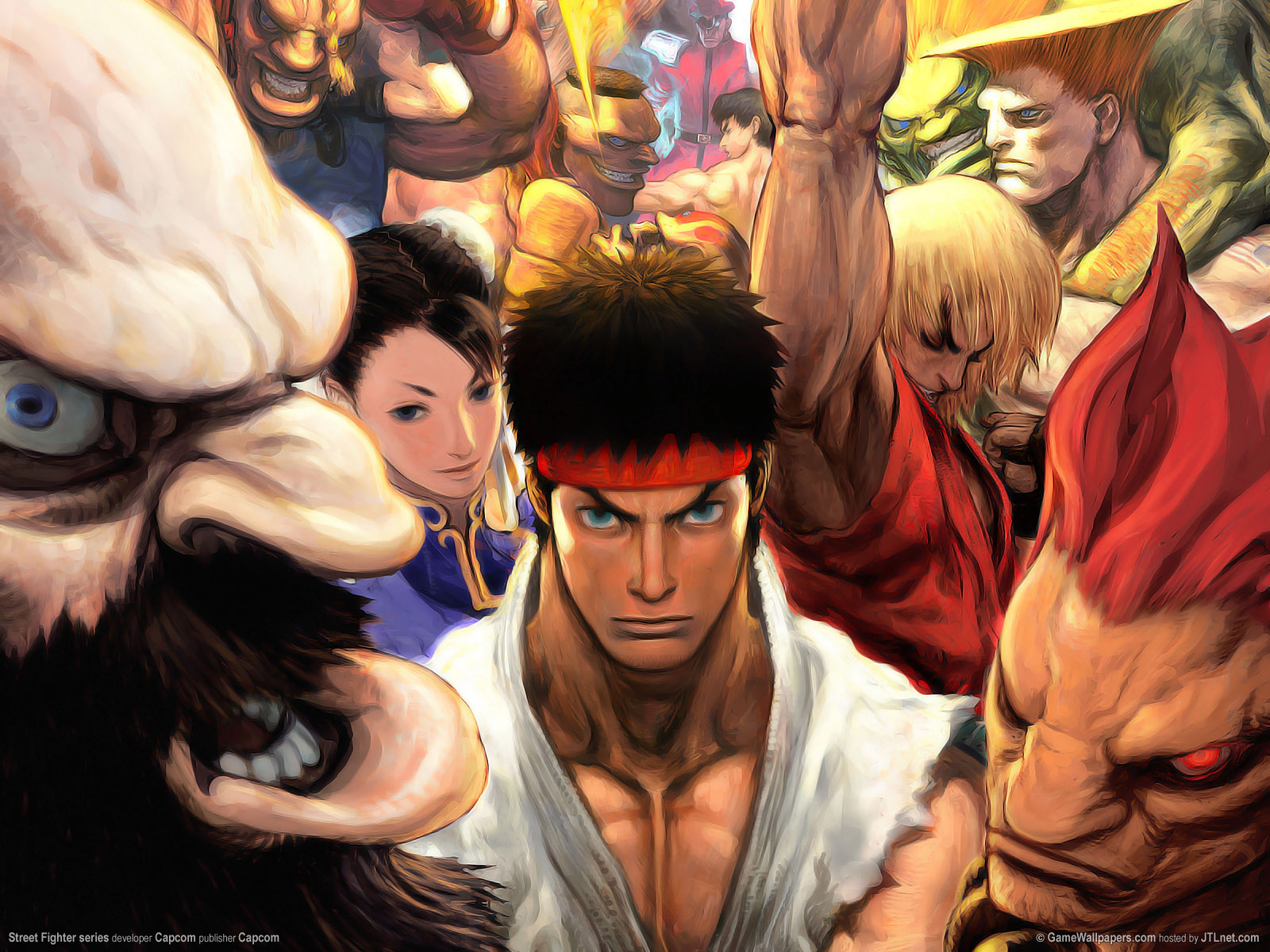 Games Online Street Fighter Wallpaper