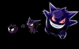 Ghost Pokemon Wallpaper Purple