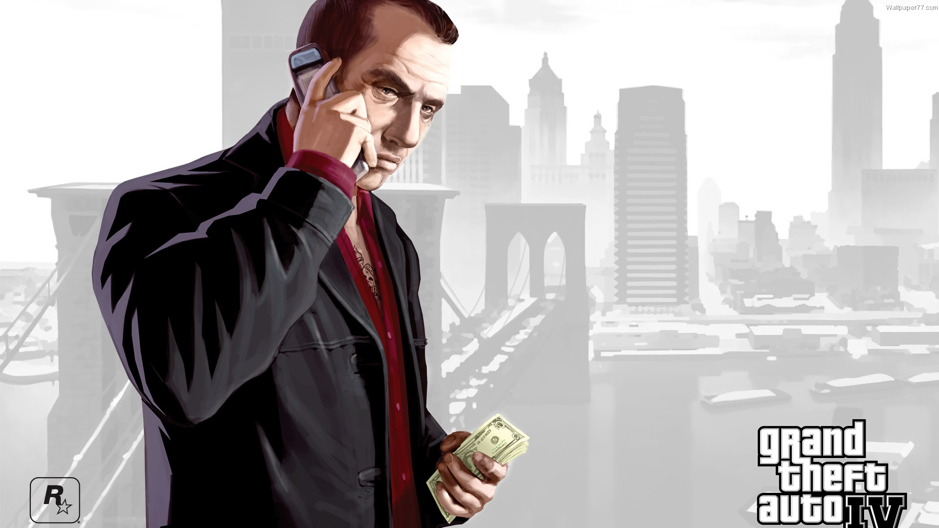 Grand Theft Auto Wallpaper 1920×1080