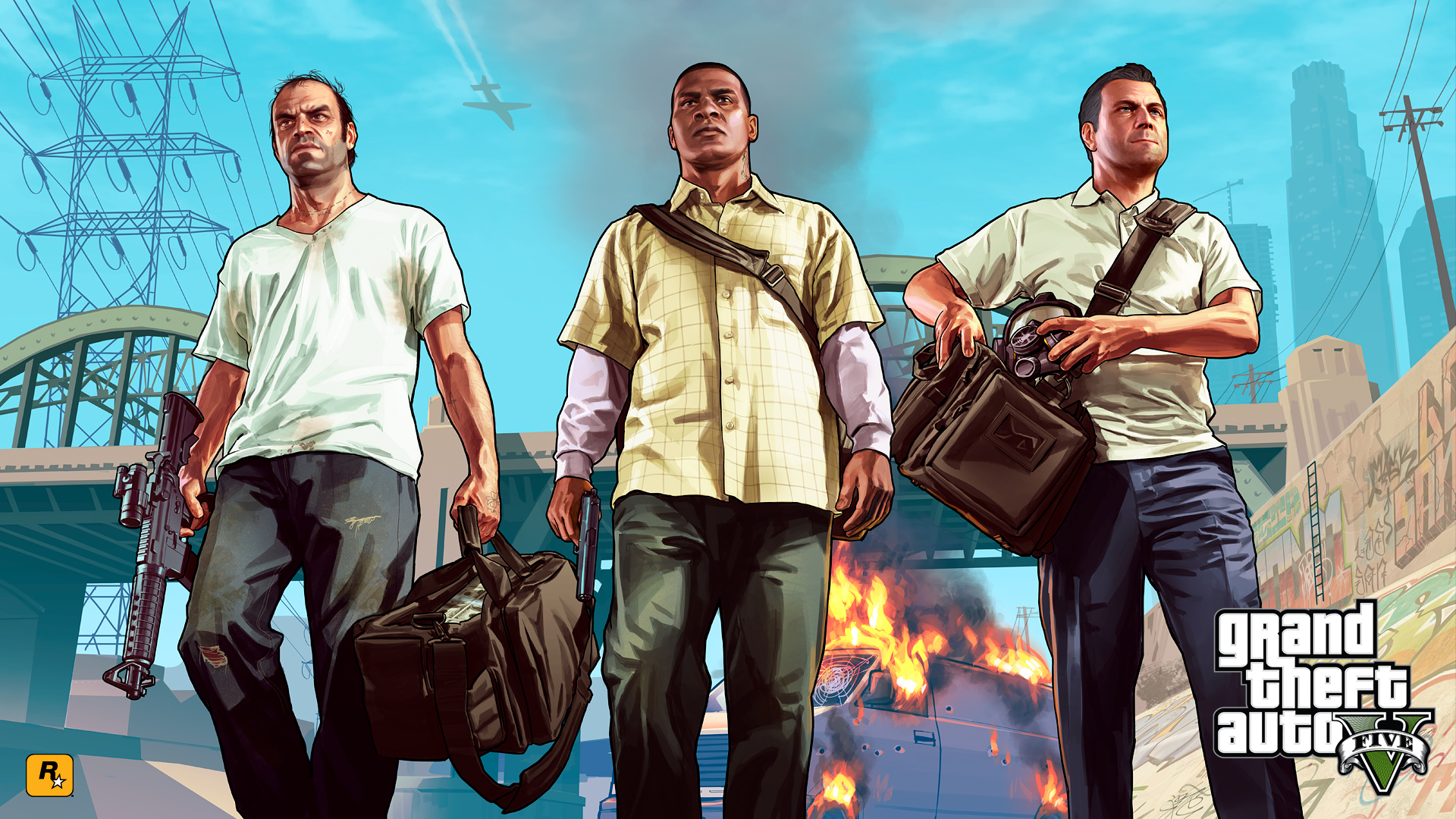 Grand Theft Auto Wallpaper Desktop 1080p