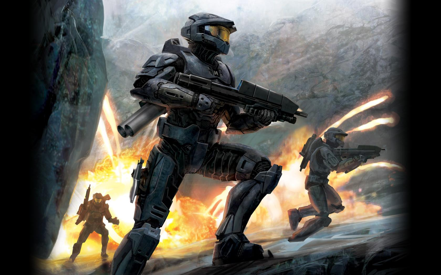 Halo Wallpaper Desktop Windows