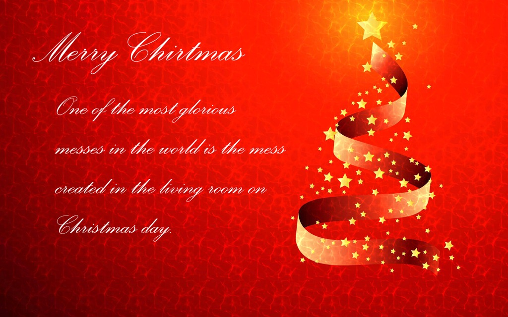Happy Background Merry Christmas Quotes Wall