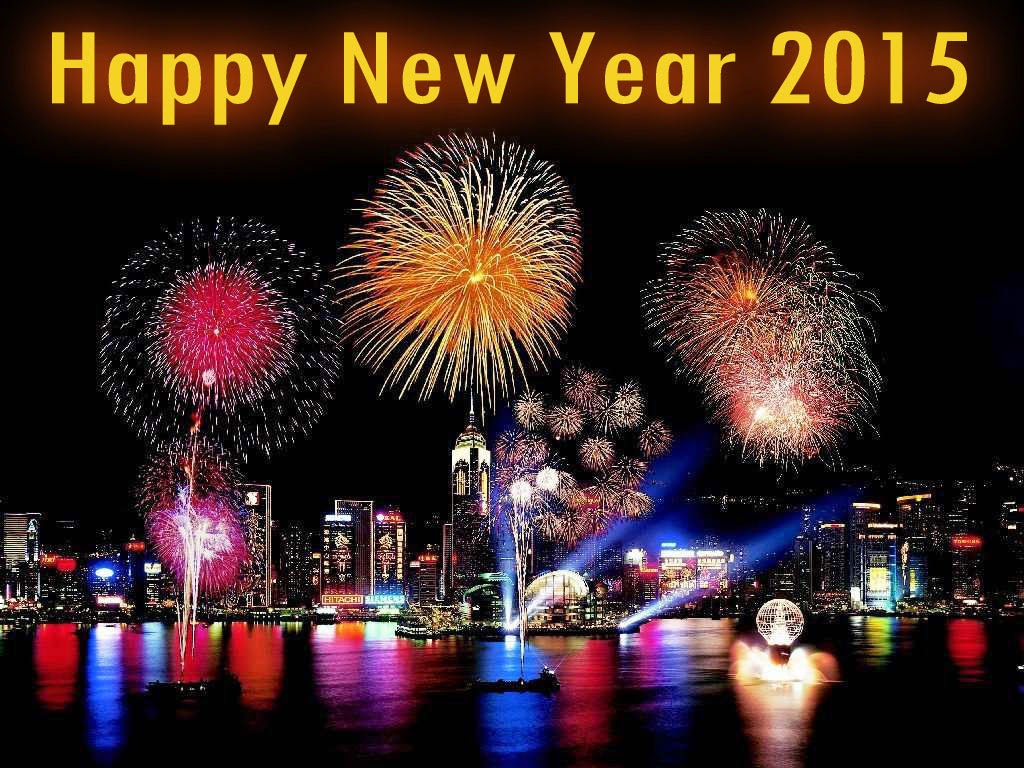 Happy Birthday Happy New Year Wallpaper 2015