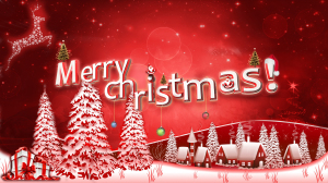 Happy Merry Christmas December Wallpaper