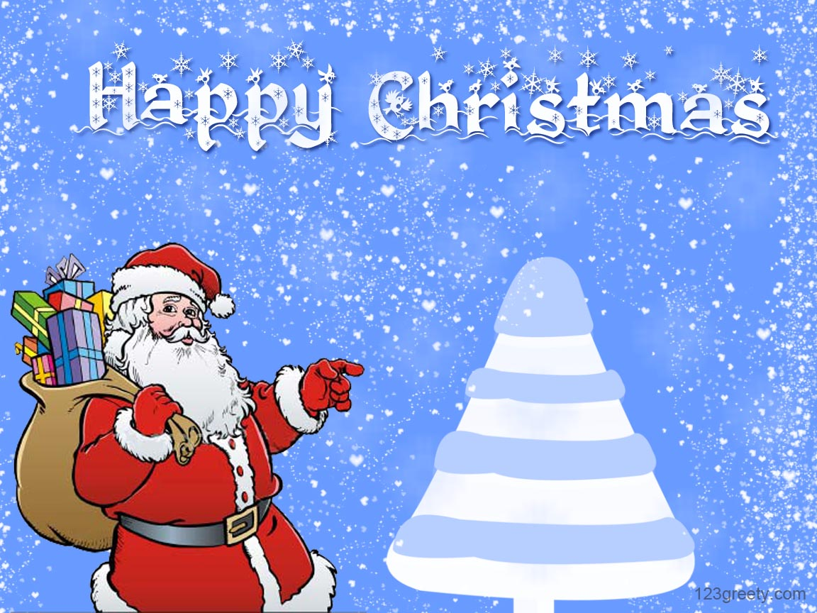 Happy Merry Christmas Desktop