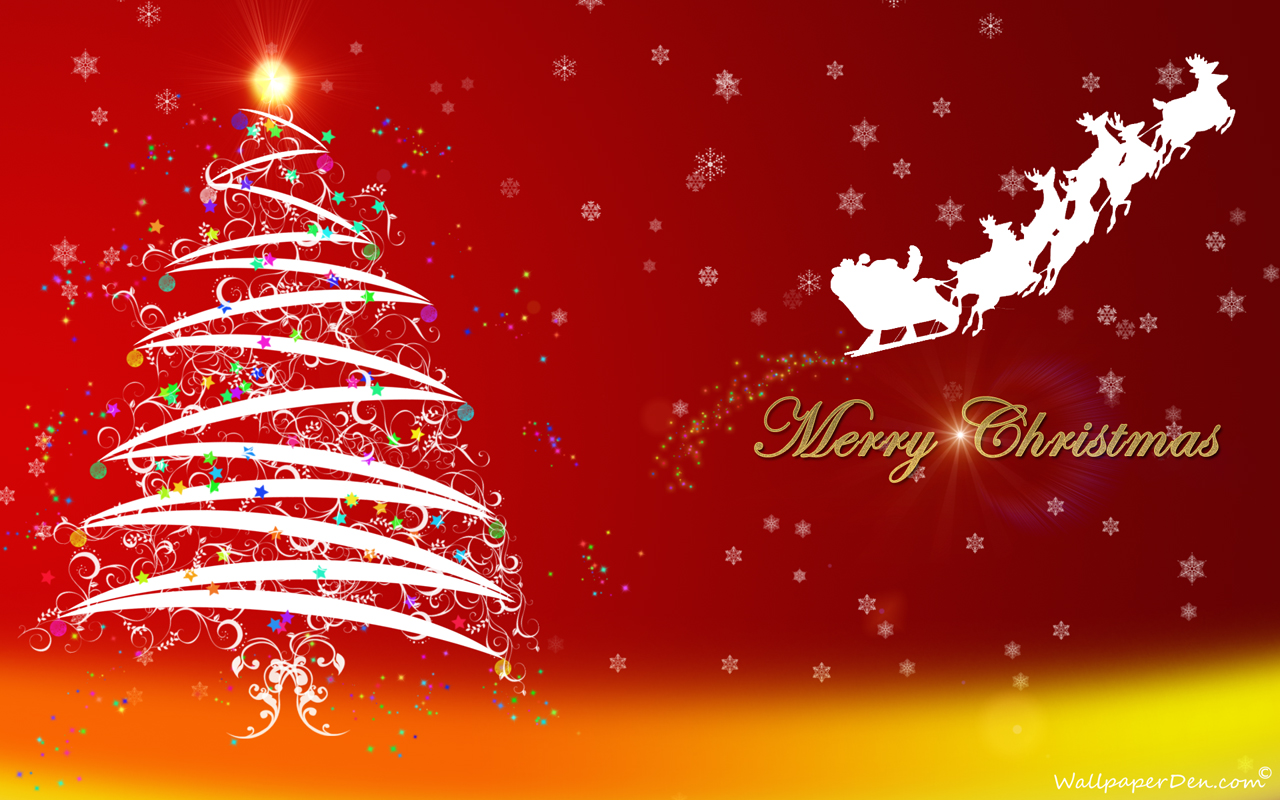 Happy Merry Christmas Wallpaper Desktop