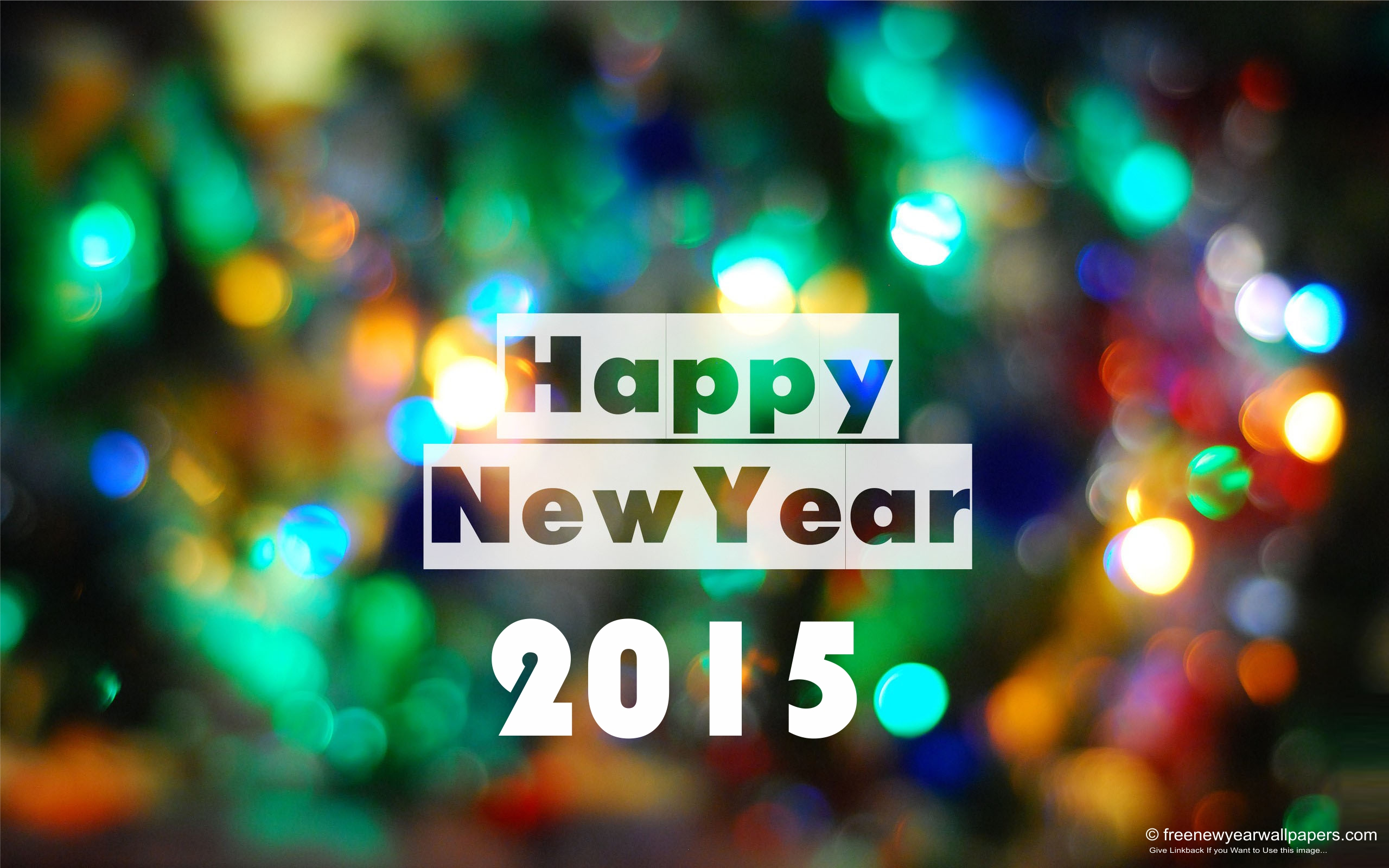 Happy New Year 2015 Wallpaper Desktop PC
