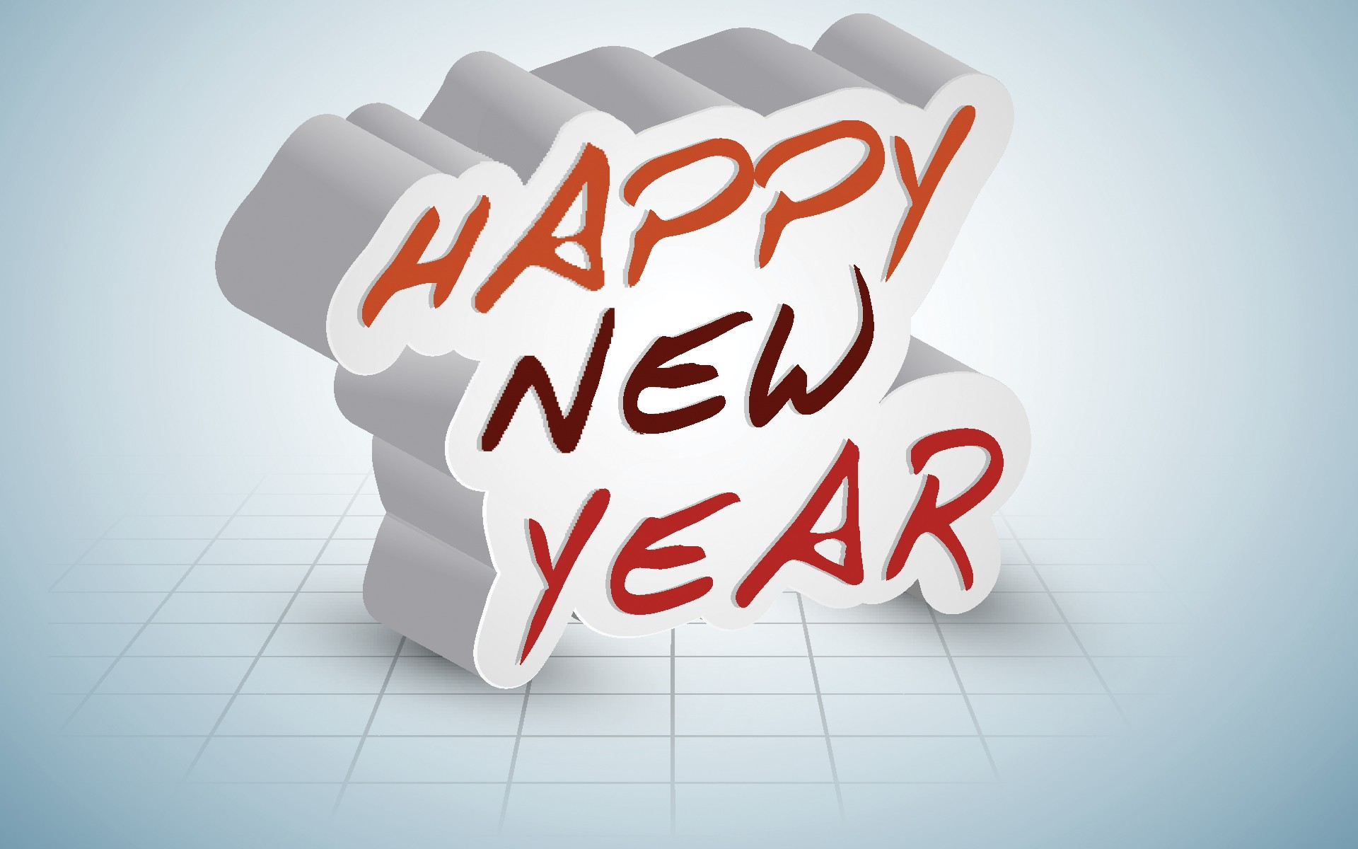 Happy New Year 3D Wallpaper Iphone