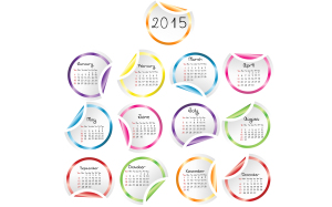 Happy New Year Calendar 2015 Wallpaper