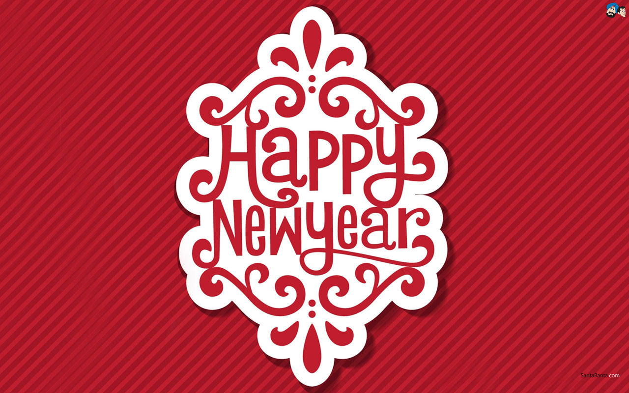 Happy New Year Wallpaper Background High Quality