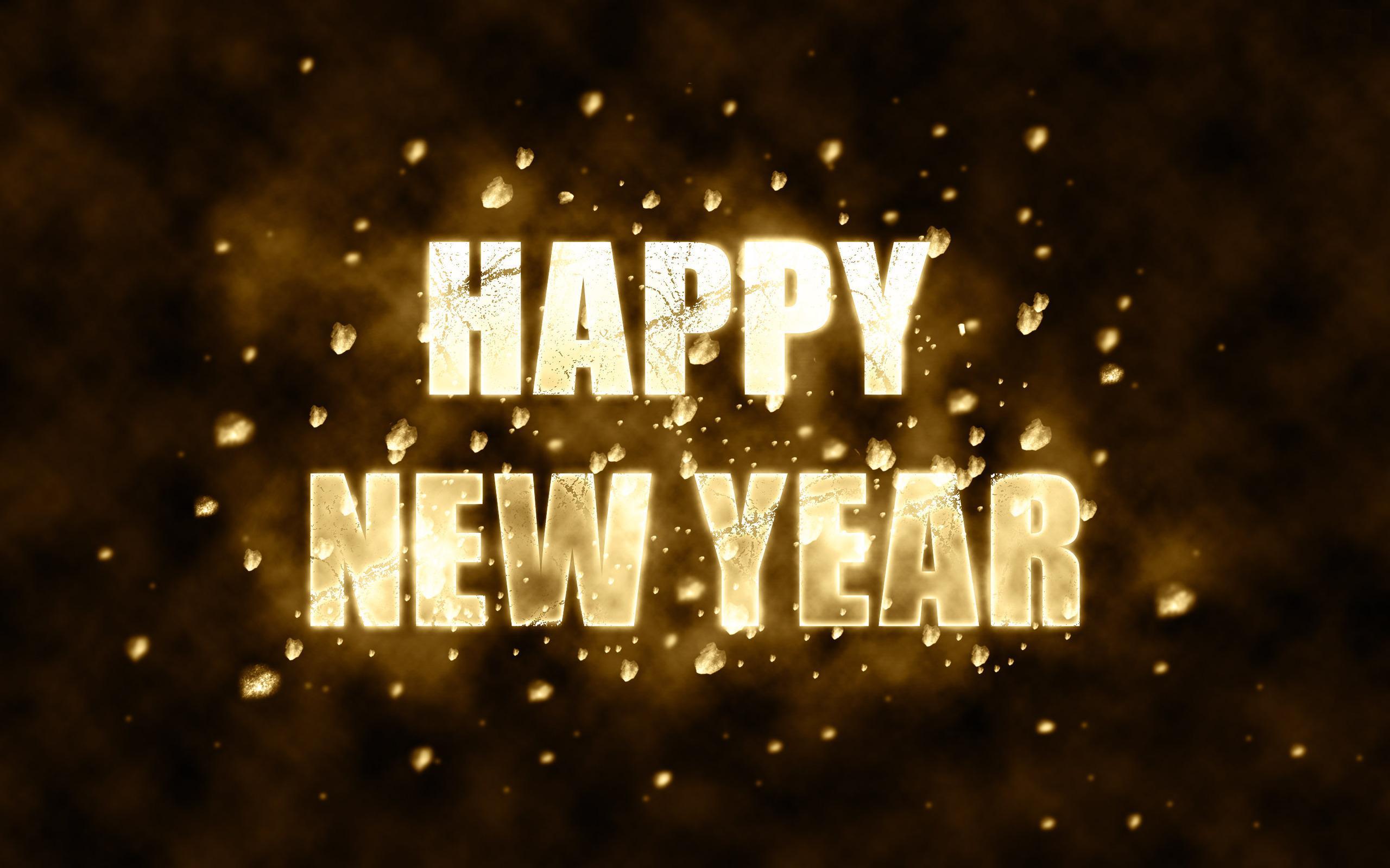 Happy New Year Wallpaper Screensaver HD