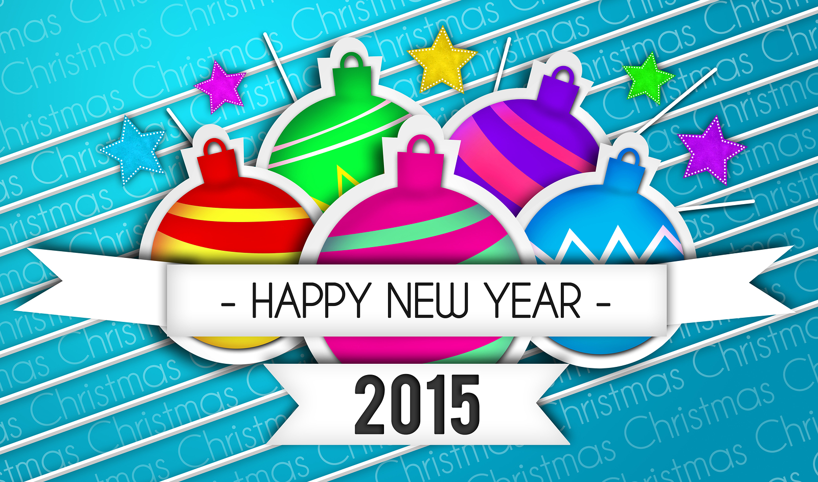 Happy New Year Wallpapers Design 2015