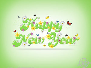Happy New Year greeting Wallpapers