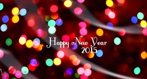 Happy New Years 2015 Bokeh Wallpaper