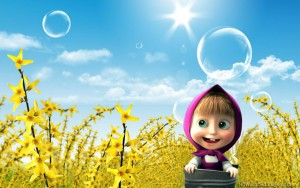 Masha And The Bear Wallpaper Free Downloads