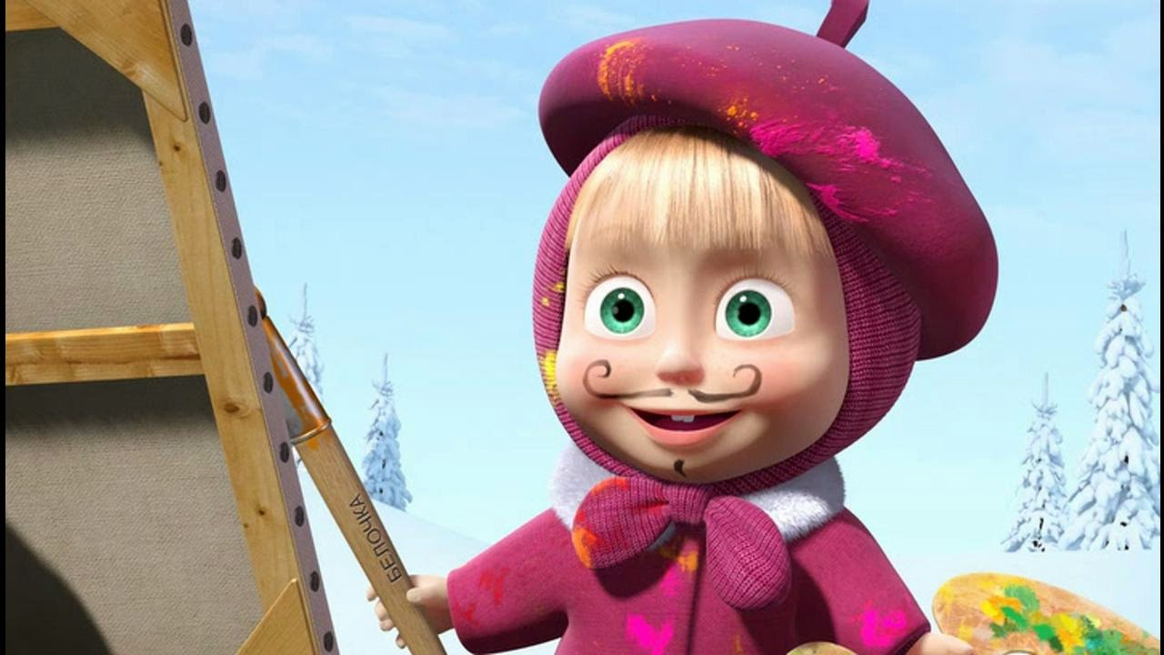 Pics Photos  Masha And The Bear 1920x1080 Wallpaper 12249