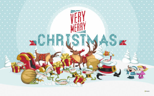 Merry Christmas 2560x1600 Wallpapers